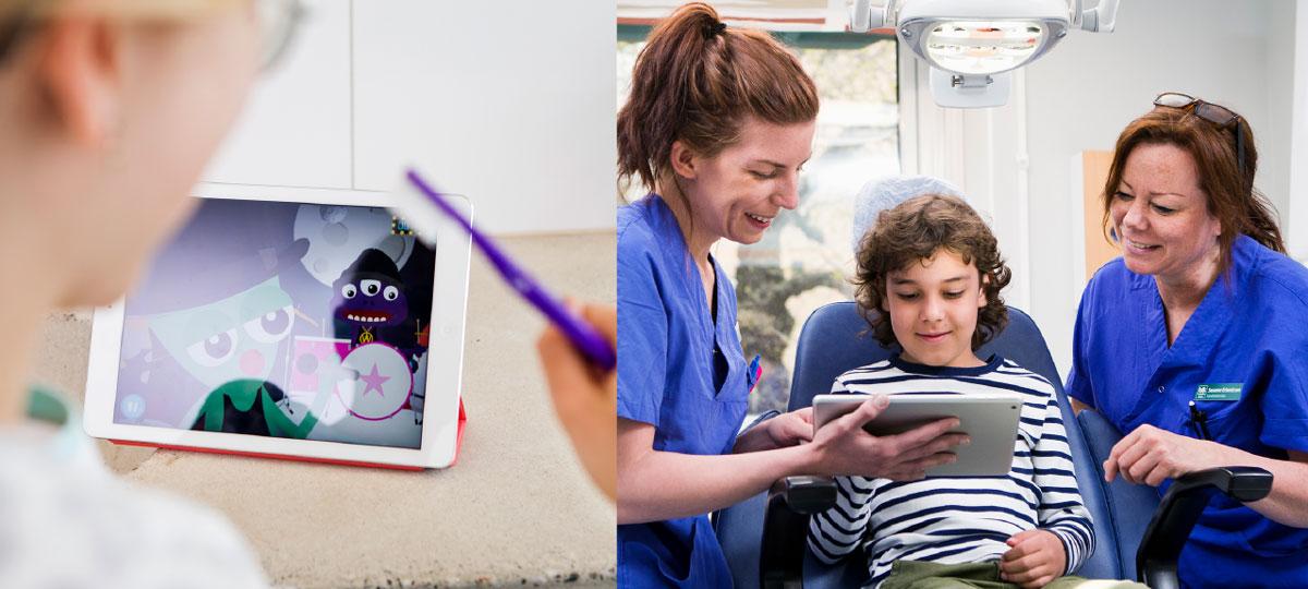 ... initiativet till ett innovativt och digitalt verktyg som inspirerar och  motiverar till bättre tandborstning och skapar en rolig rutin varje dag. b3c1874ce2439
